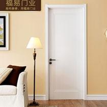 [福易门业]橡木烤漆门 定制 现代卧室房间门 套装室内门